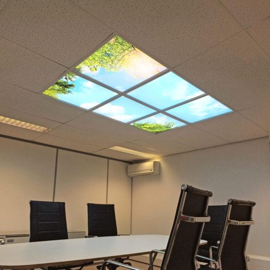 DAglicht wolkenplafond - Office Vergader ruimte-1280