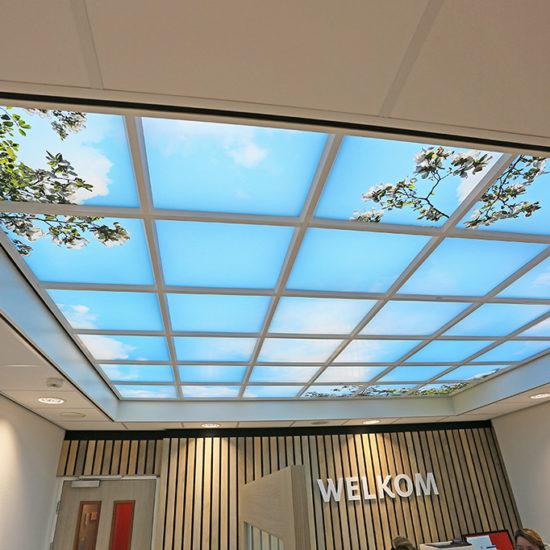 Dagyichtplafond-Ziekenhuis-Healingenvironment-BrightNatureInteriors