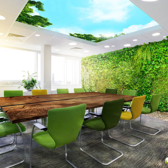 Office Meetingroom Redesign Greenwall Daylight ceiling - Bright Nature Interiors-Logo-1980px-S