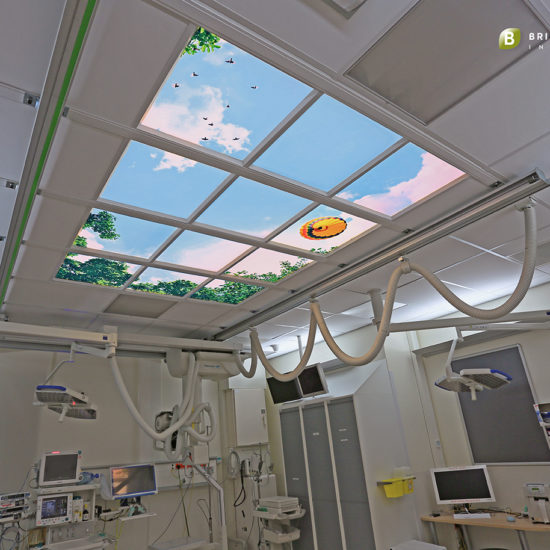 RADBOUD SEH - Daglichtplafond - Intencive Care - Skylight ceiling-Logo-1280